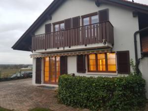 2 chambres avec balcon sur campagne